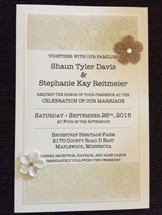 My wedding invitation card. ☺️ #rusticwedding #weddinginvitations #handmadeinvitations