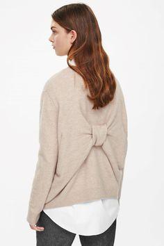 COS | Folded back detail jumper