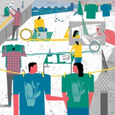 Wired Magazine - 'How to' - Raj Dhunna Illustration