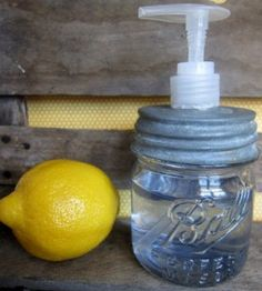 Soap Dispenser Mason Jar Craft | Mason Jar Crafts | Crafts for Home — Country Woman Magazine