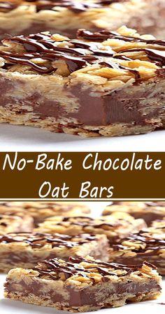 Cookie Desserts, No Bake Desserts, Easy Desserts, Delicious Desserts, Yummy Food, Brownie Recipes, Cookie Recipes, Yummy Cookies, Bar Cookies