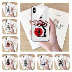 Phone Case Naruto Kakashi Uzumaki Naruto Sasuke Uchiha hard PC Cover for iPhone X 10 6 7 8 Plus Fashion Coque Capa Case All Iphones, Anime Toys, Naruto And Sasuke, Kaneki, Dragon Ball, Anime Art, Images, Iphone Cases, Drawings