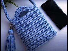 Crochet Purse Patterns, Crochet Purses, Crochet Scarves, Crochet Clothes, Knit Crochet, What Is Knitting, Knitting Increase, Crochet Mobile, Yarn Bag