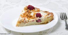 Keto Blackberry Custard Pie