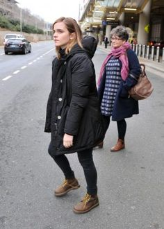 Image result for emma watson with her mom washington 2017