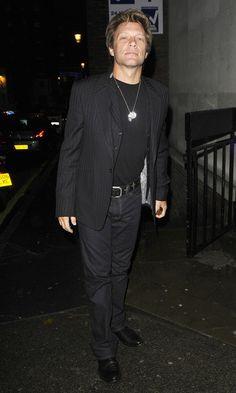 Jon Bon Jovi - Bon Jovi Leaves Locanda Locatelli