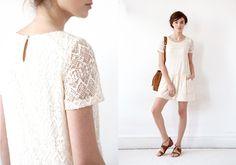 Sézane / Morgane Sézalory - Spring collection - Melba dress #sezane www.sezane.com/fr #frenchbrand #frenchstyle