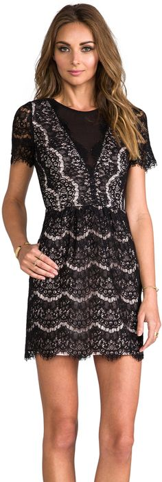 Dolce Vita Saurus Eyelash Lace Dress is on sale now for - 25 % ! #provestra