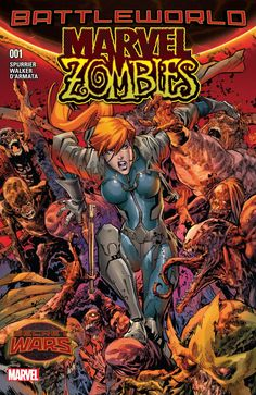 Elsa Bloodstone is stationed on the Shield, burdened with the Sisyphean task of keeping the zombie hordes from rampaging through Battleworld. In those moments where she's not enrapt in the throes of battle