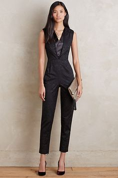 103c2e0dfd54 Jacquard Tux  Jumpsuit by Greenwich  amp  Mews