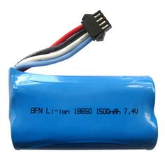 7.4V 1500mAh LIPO Battery for RC Boat / Airplane. Find the cool gadgets at a incredibly low price with worldwide free shipping here. UDI902 UDI002 7.4V 1500mAh Li-polymer Battery - Blue, Batteries & Chargers, . Tags: #Hobbies #Toys #R/C #Toys #Batteries #Chargers