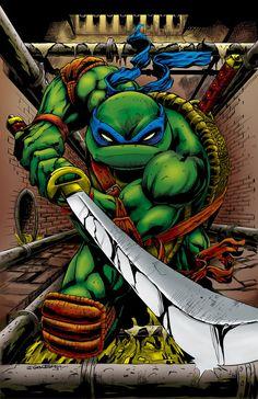 The Leader by TheVatBrain on DeviantArt Ninja Turtles Art, Teenage Mutant Ninja Turtles, Comic Books Art, Comic Art, Ninga Turtles, Renaissance Artists, Ninja Party, Tmnt, Just In Case