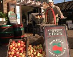 Norfolk Cider, Apple juice and more at Wroxham Barns