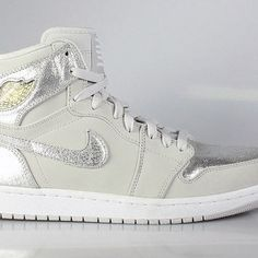 3477fbb6133a13 Air Jordan 1 I Men s Retro High Silver 25th Anniversary Jordan 1