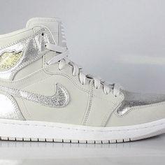 competitive price 86f70 d9cd4 Air Jordan 1 I Men s Retro High Silver 25th Anniversary Jordan 1, 25th  Anniversary,