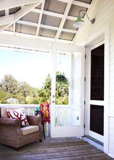 Island Grove Estate Outdoor Living Area traditional porch