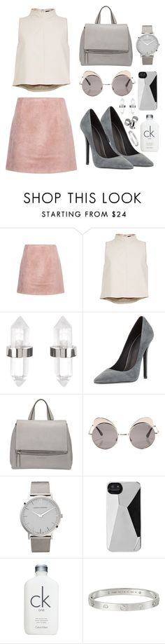 """""""///"""" by mimiih ❤ liked on Polyvore featuring Acne Studios, TIBI, Amber Sceats, Jeffrey Campbell, Givenchy, Quay, Larsson & Jennings, Marc by Marc Jacobs, Calvin Klein and MTWTFSS Weekday"""
