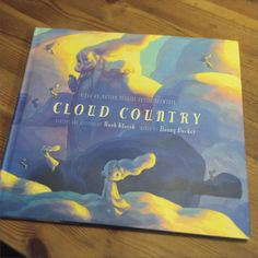 Look what just showed up on my front porch today. It's my advance copy of my book Cloud Country. So exciting.