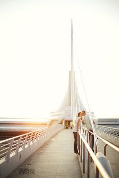 Carrie and Ben's Milwaukee Engagement by jakedavidrohde, via Flickr