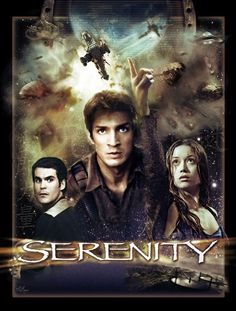 Oh, Serenity. This film tore out my heart with a Reaver harpoon and served it back to me on a silver platter. Serenity Now, Firefly Serenity, Firefly Series, Firefly Art, Tv Series, Movie Poster Art, Poster S, Film Posters, Science
