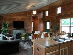 General Shelters :: Cedar View Image Index Barn Homes Floor Plans, Pole Barn House Plans, Pole Barn Homes, Cottage House Plans, Small House Plans, House Floor Plans, Portable Sheds, Portable Cabins, Large Kitchen Counters