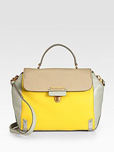 Marc by Marc Jacobs - Sheltered Island Colorblock Top Handle Bag