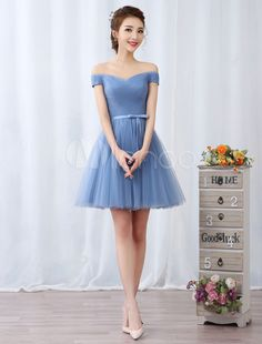 Short Prom Dresses Off The Shoulder Graduation Dress Baby Blue Tulle Pleated Sash Cute Homecoming Dresses Short Prom Dresses Off The . Cute Homecoming Dresses, Cheap Prom Dresses, Short Dresses, Bridesmaid Dresses, Formal Dresses, Wedding Dresses, Baby Blue Dresses, Baby Dress, Graduation Dress College