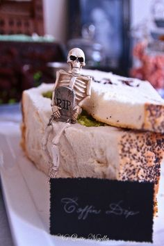 Halloween Coffin Dip Recipe & Other Seriously Spooky Halloween Food Ideas!