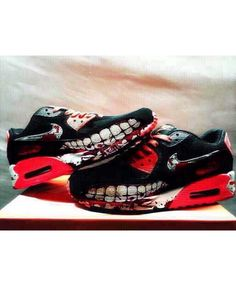 brand new ee726 d43e3 Nike Air Max 90 Candy Drip Shark Attack Nightmare Sneakers Cheap Sale Sale  Uk, Cheap