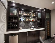 Basement Bar - Modern
