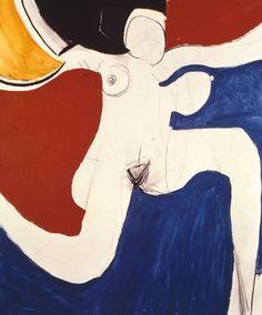 aymerydelamaisonfort:  Roger Hilton,Oi Yoi Yoi (1963).