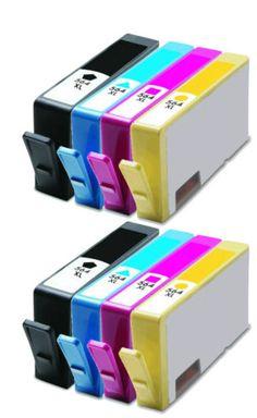 8-PK-New-Gen-For-HP-564XL-CN684WN-Ink-Cartridge-For-5510-5514-5515-5520-Printer
