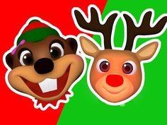 """""""Santa's Number #1 Reindeer""""   Sing Along to Baby Beavers Christmas Carols, Preschool Babies - YouTube"""