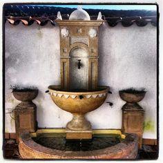 Fuente casa rural cinco balcones #rural #sierra #aracena