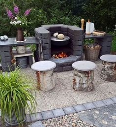 Outdoor Kitchen Patio, Outdoor Decor, Garden Landscaping, Backyard, Exterior, Landscape, Creative, Heaven, Gardening