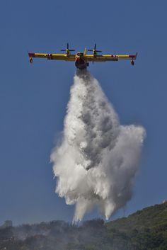 by Gandolfo Steven #flickr #corsica #firefighter #plane