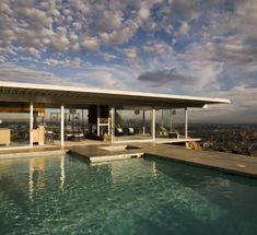 Case Study House #22 - The Stahl House in the Hollywood Hills by Pierre Koenig. Open via reservation. Stunning place to watch the sun set.