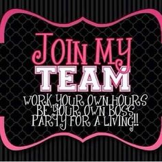 JOIN MY TEAM! WORK YOUR OWN HOURS! BE YOUR OWN BOSS! PARTY FOR A LIVING WITH MARY KAY'S SKINCARE, MAKEUP AND PAMPERING PRODUCTS! JOIN FOR $100 RECEIVE YOUR STARTER KIT IN THE MAIL TODAY! Www.marykay.com/Wilkersontm