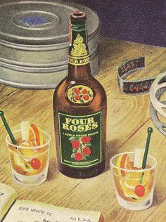 Four Roses Straight Bourbon 1942