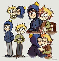 Creek ▪ Craig x Tweek ▪ South park South Park Funny, South Park Memes, South Park Anime, South Park Fanart, Anime Chibi, Kawaii Anime, Castor And Pollux, Tweek And Craig, Tweek South Park