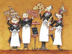 Art deco cuisiniers