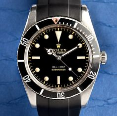 Vintage Submariner with Black Dial