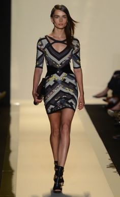 Herve Leger by Max Azria - YouTube Live From The Runway