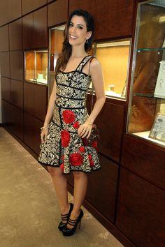 Lançamento nova coleção Atlas™, da Tiffany & Co., em SP | Camila Coutinho                                                                                                                                                                                 Mais