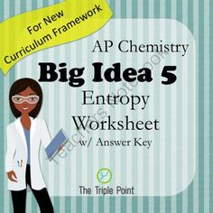 AP Chemistry Big Idea 5 Worksheet: Specific Heat and Calorimetry Chemistry Classroom, Teaching Chemistry, Science Chemistry, A Classroom, Physical Science, College Board, Teacher Notebook, Ap Biology, Learning Objectives