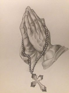 Praying hands for blees my family