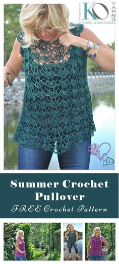110+ Free Crochet Patterns for Summer and Spring - Page 8 of 12 - DIY & Crafts