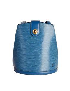 1ef4eeb6c5 Louis Vuitton Vintage Toledo Blue Epi Leather Cluny Shoulder Bag - from Amarcord  Vintage Fashion