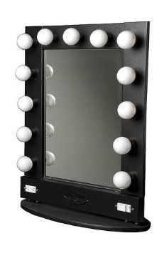 Amazon.com: Broadway Lighted Make Up Mirror: Beauty