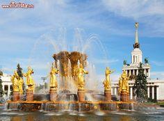 Fontana dell'Amicizia tra i Popoli, Mosca, ...
